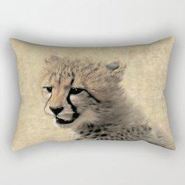 Cheetah cub Rectangular Pillow