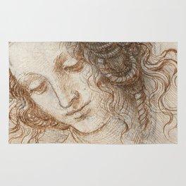 Leonardo da Vinci - Head of Leda Rug