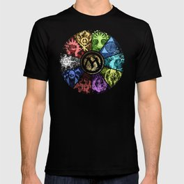Magic the Gathering - Faded Guild Wheel T-shirt