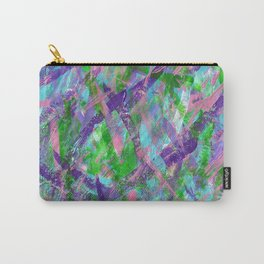 Spring Awakening Abstract Art Carry-All Pouch