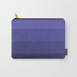 Dark Winter Blue Hues - Color Therapy Carry-All Pouch