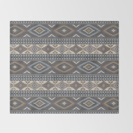 vintage southwest Throw Blanket