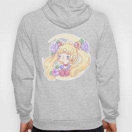 Sailor Moon & Peonies Hoody