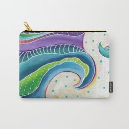 Tribal Wave I Carry-All Pouch