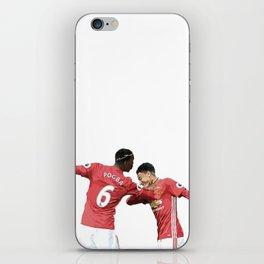 Pogba Lingard - Manchester United - Dab iPhone Skin