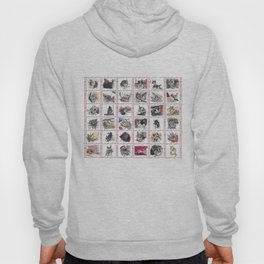 Quilt of Many Cats Hoody