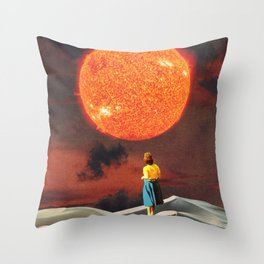 Your Heart Is The Sun Throw Pillow