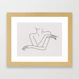 sketch #27,  self Framed Art Print