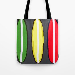 Whiteline Surf Tote Bag
