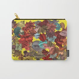 Harmonic Flowers Carry-All Pouch
