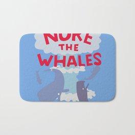 Nuke the Whales Bath Mat