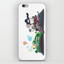 EcoBook iPhone Skin