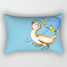 Duck Weather Rectangular Pillow