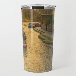 Regents Park Canal London Travel Mug