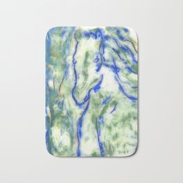 Encaustic Horse Bath Mat