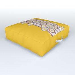 Stitches - Growing bubbles Outdoor Floor Cushion