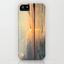Sunset in Salem Harbor iPhone Case
