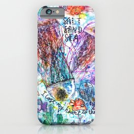 I Lost my Heart to the Ocean iPhone Case
