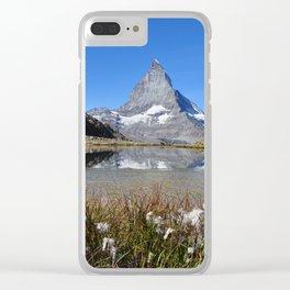 Matterhorn Clear iPhone Case
