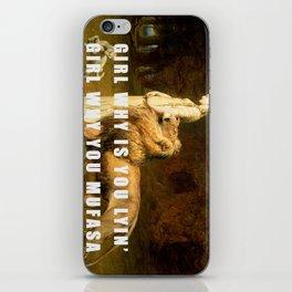 Lyin' in 3005 iPhone Skin