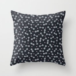 I LOVE STRENGTH (Dark Background Option) Throw Pillow