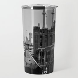 Detroit Cityscape Travel Mug