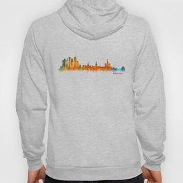 Moscow City Skyline art HQ v2 Hoody
