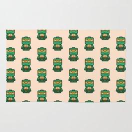 Chibi Michelangelo Ninja Turtle Rug