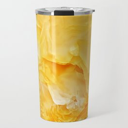 Yellow onyx marble Travel Mug