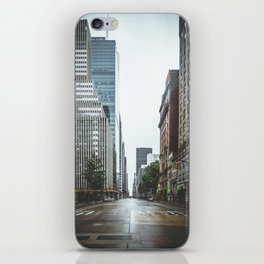 Empty Streets - New York City iPhone Skin