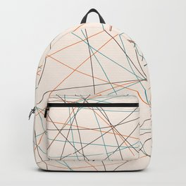 Colored Line Chaos #21 Backpack