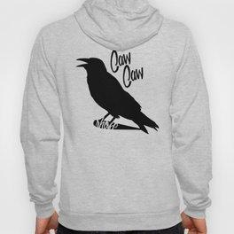 Caw Caw Black Hoody