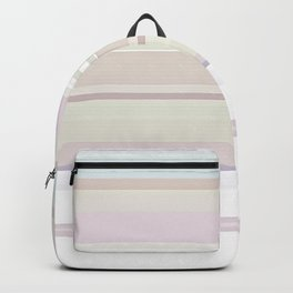 Stripes and Pastels Sands of Time Pattern Backpack