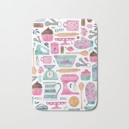 Baking Cakes Bath Mat