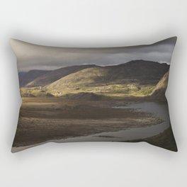 Clouds, Land, Water Rectangular Pillow