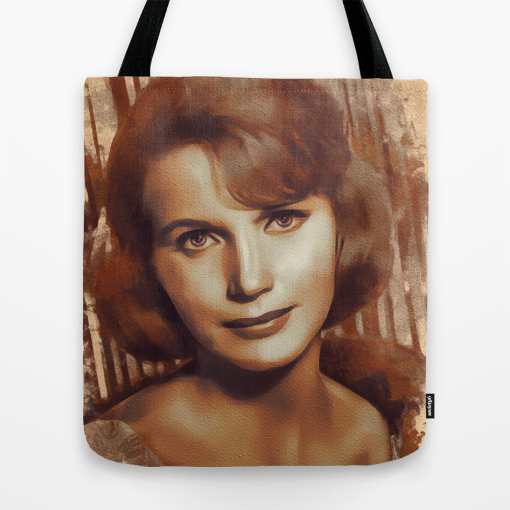 Eva Saint Marie, Actress Tote Bag by Esotericaartagency TBG8755690