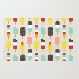 Ice Lollies & Frozen Treats Rug