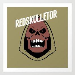 Redskulletor  Art Print