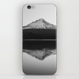Wild Mountain Sunrise - Black and White Nature Photography iPhone Skin