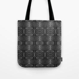 zakiaz blk&gray abstract design Tote Bag