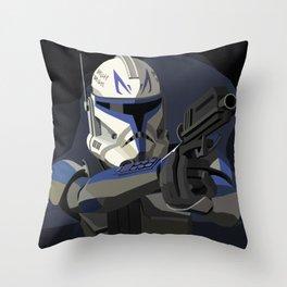Captain Rex Throw Pillow