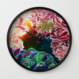 Ode To Creation Wall Clock