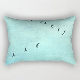 GEESE FLYING Rectangular Pillow