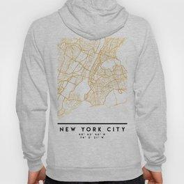 NEW YORK CITY NEW YORK CITY STREET MAP ART Hoody
