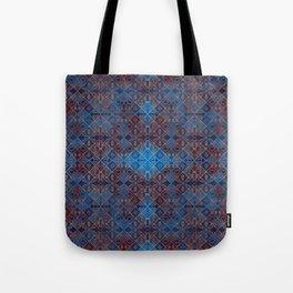 Copper Leaves Tote Bag