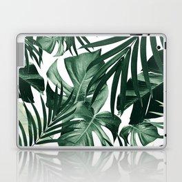 Tropical Jungle Leaves Pattern #4 #tropical #decor #art #society6 Laptop & iPad Skin