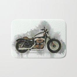 Harley Sportster Bath Mat