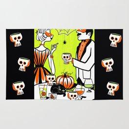 The Swankiest Halloween Party Rug