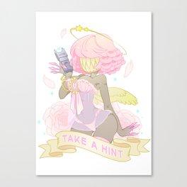 Take a Hint! Canvas Print