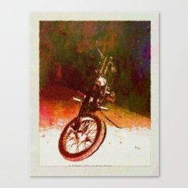 FLATHEAD - 043 Canvas Print